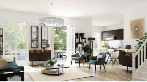 Appartement neuf Rue Villebois-Mareuil - Docteur Calmette éco-habitat à Villemomble