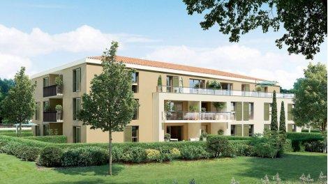 Appartement neuf Villa des Arts investissement loi Pinel à Aix-en-Provence