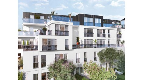 Appartements et maisons neuves Le Carré Briand éco-habitat à Châtenay-Malabry