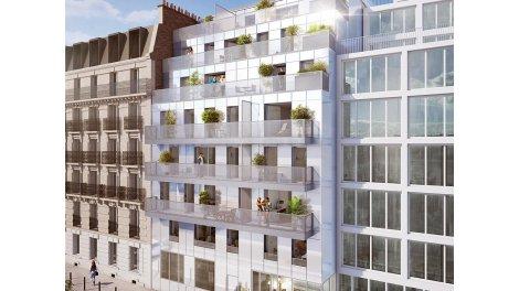 Appartement neuf L'Avant-Seine éco-habitat à Paris 13ème