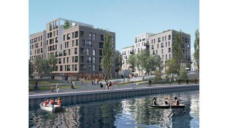 Appartement neuf Les Docks de l'Ourcq éco-habitat à Bondy