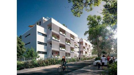 Appartement neuf Patio Gaïa investissement loi Pinel à Marseille 8ème