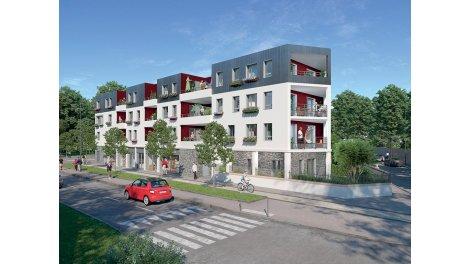 Appartement neuf Le Square de la Maillarde éco-habitat à Chennevieres-sur-Marne