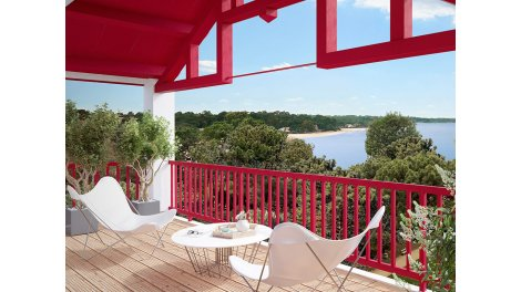 Appartement neuf Résidence Saint Georges éco-habitat à Hossegor