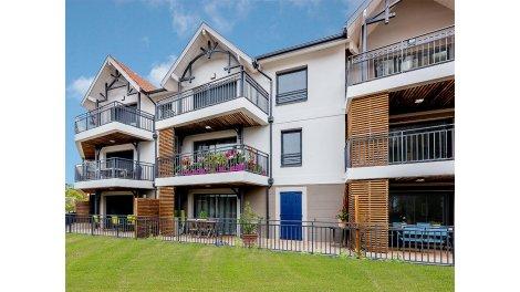 Appartement neuf Couleurs Tchanquées éco-habitat à Arcachon