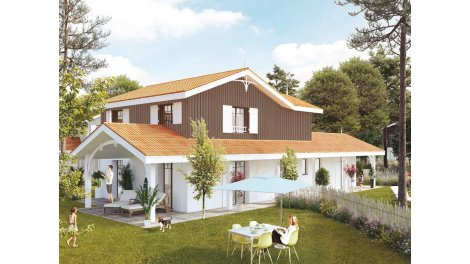 Appartements et maisons neuves Les Portes du Pyla éco-habitat à La Teste de Buch