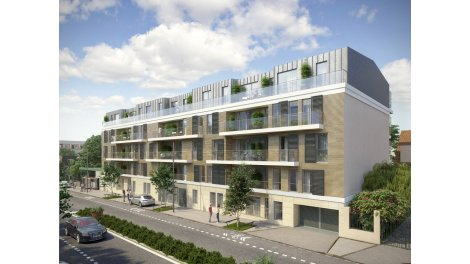 Appartement neuf Le Carré Sully investissement loi Pinel à Châtenay-Malabry