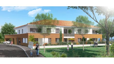 Appartement neuf Le Jardin Pinel à Saint-Orens-de-Gameville