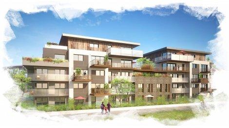 Appartement neuf Résidence Akoya investissement loi Pinel à Thonon-les-Bains