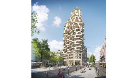 Appartement neuf Higher Roch investissement loi Pinel à Montpellier