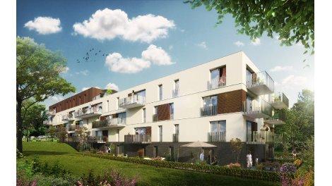 Appartement neuf Château des Palmiers investissement loi Pinel à Haubourdin