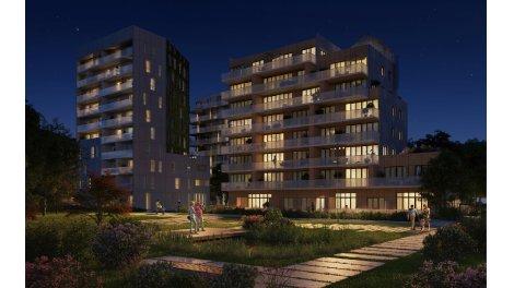 Appartement neuf Faubourg des Pépinières T1 investissement loi Pinel à Lille