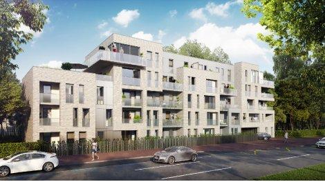 Appartement neuf Le Jardin Clemenceau à Marcq-en-Baroeul