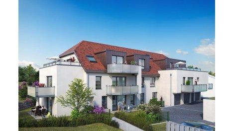 Appartement neuf La Villa Foch investissement loi Pinel à Ingersheim