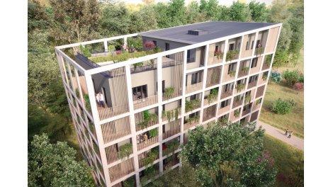 Appartement neuf Côté Prairie investissement loi Pinel à Illkirch-Graffenstaden
