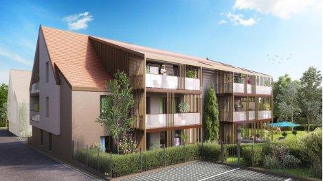Appartement neuf Les Botalies investissement loi Pinel à Benfeld