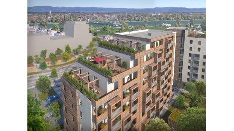Appartement neuf L'Orée des 2 Rives investissement loi Pinel à Strasbourg