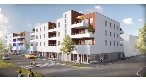 Appartement neuf Le Cervantes investissement loi Pinel à Strasbourg