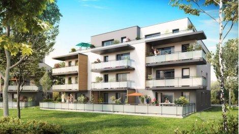 Appartement neuf Domaine de la Pommeraie investissement loi Pinel à Ergersheim