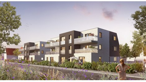 Appartements neufs Cosy Garden investissement loi Pinel à Oberschaeffolsheim