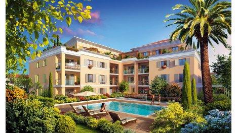 Appartement neuf Secret Garden investissement loi Pinel à Cannes