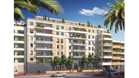 Appartement neuf Marina Bay investissement loi Pinel à Juan-les-Pins
