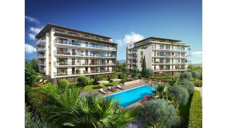 Appartement neuf L'Oliveraie de Saint Jean investissement loi Pinel à Antibes