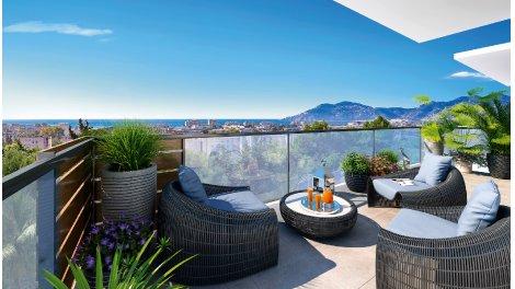 Appartement neuf Palm Horizon investissement loi Pinel à Cannes