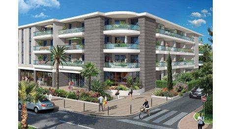 Appartement neuf Villa Thalia investissement loi Pinel à Antibes