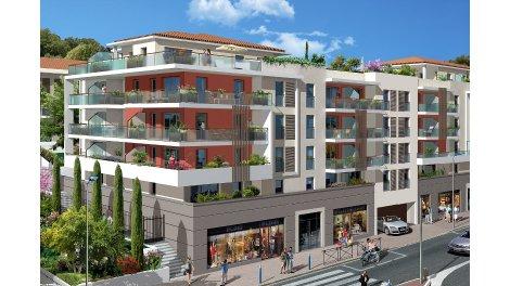 Appartement neuf Les Terrasses du Château investissement loi Pinel à Cagnes-sur-Mer