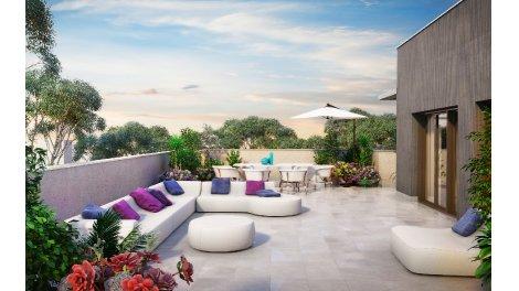 Appartements neufs Villa Balzac investissement loi Pinel à Villeurbanne