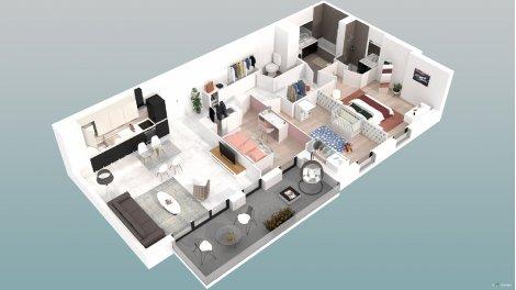 logement neuf à Villeurbanne