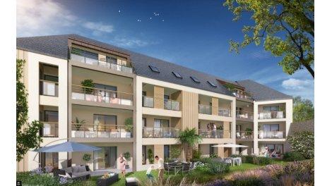 Appartement neuf Les Desirades investissement loi Pinel à Saint-Malo