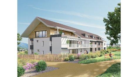 Appartement neuf Les Cottages d'Arbère investissement loi Pinel à Divonne-les-Bains