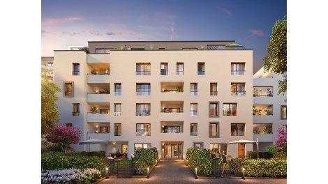 Appartement neuf Les Jardins du 6ème investissement loi Pinel à Lyon 6ème