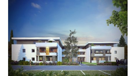 Appartement neuf Les Allees de Klimt investissement loi Pinel à Illzach