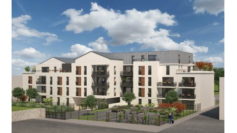 Appartement neuf Garden City investissement loi Pinel à Tours