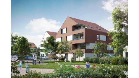 Appartement neuf Le Domaine de la Chênaie investissement loi Pinel à Haguenau