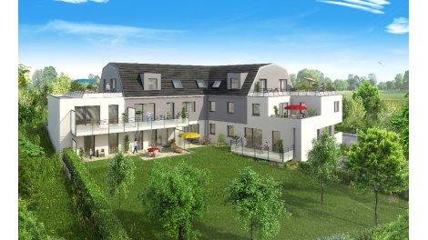 Appartement neuf L'Hélios investissement loi Pinel à Mommenheim