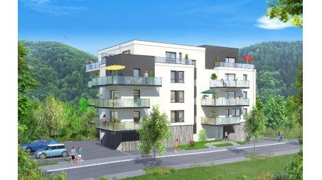 Appartements neufs Les Terrasses du Vignoble investissement loi Pinel à Thann