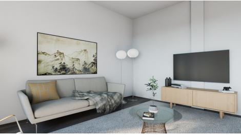 Appartement neuf Patio Brossolette investissement loi Pinel à Bron