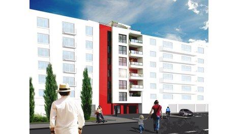 Appartement neuf Ambiance Montchat investissement loi Pinel à Lyon 3ème
