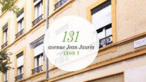 Appartement neuf 131 Avenue Jean Jaurès à Lyon 7ème