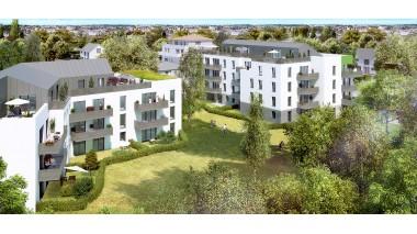 Appartement neuf Les Jardins de Meyzieu investissement loi Pinel à Meyzieu