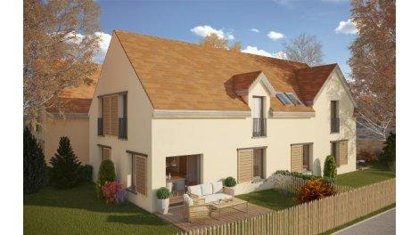 Maisons neuves Les Carrés de près éco-habitat à Saint-Forget