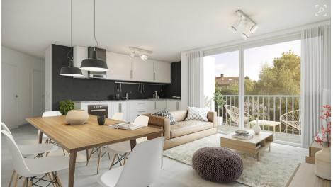 Appartement neuf Carré Pouilly investissement loi Pinel à Saint-Genis-Pouilly