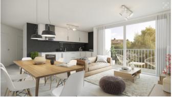 Appartements neufs Carré Pouilly investissement loi Pinel à Saint-Genis-Pouilly