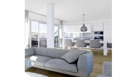 Appartement neuf Le Centrium investissement loi Pinel à Vaulx-en-Velin
