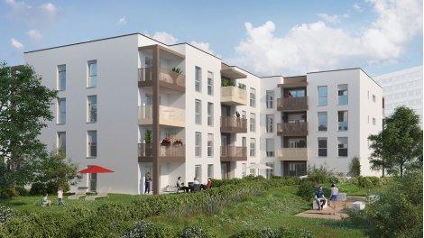 Appartement neuf Tendance Vénissieux investissement loi Pinel à Vénissieux