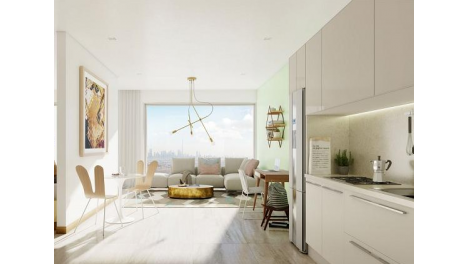Appartement neuf Esprit Salengro investissement loi Pinel à Villeurbanne